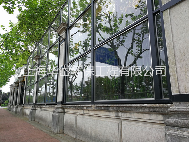 title='上海君庭别墅外围声屏障'